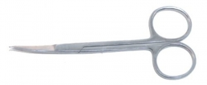 Iris Scissors-110mm Curved